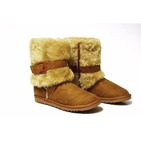 Botas Para Neve Frio Tipo Australiana Forrada Com Lã