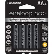 Pilas Recargables Panasonic Eneloop Pro 2550mah Pack X4