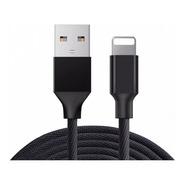 Cable Cargador iPhone Reforzado Max Calidad Lightning - Usb