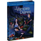 Dvd The Vampire Diaries - 3ª Temporada - 5 Discos - Dublada