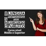 Curso De Portugues Para Concurso Público E Enen Vídeo Aula