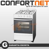 Cocina Escorial Multigas Master Blanca 56 Cm Modelo Nuevo