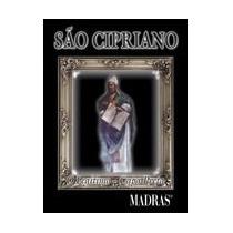 Livro São Cipriano - Capa Preta - Editora Madras - ( Bolso)