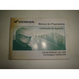 Manual Moto Honda Cg 150 2005 2006 Titan Sport Job Original