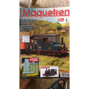Revista Maquetas Trenes Ferromodelismo
