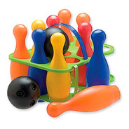 Juego Bowling Infantil Duravit 10 Pinos + 2 Bolos