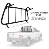 Grade Vigia Fiat Strada 2001 A 2013 Proteção Vidro Traseiro