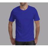 Camiseta Personalizada Com Estampa Em Silk 2cores(min.10pçs)