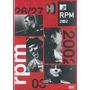 Dvd Rpm - 2002 Acústico Mtv