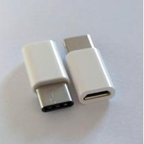 2 Adaptadores Type C Carregador Moto Z Note 7 Lg G5 Zenfone