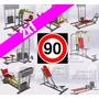 90 Planos Construye Maquinas De Ejercicios Gym Gimnasios