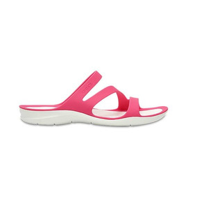 Sandalia Crocs Mujer Swiftwater Paradise Pink