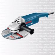 Amoladora Angular Bosch Gws 20 180 2000w 7'' Magaro