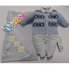 Roupa Para Bebe Plush Menino - Roupas de Bebê Azul aço no Mercado ... f02e9ed82ee