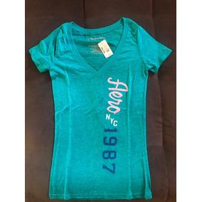 de0fb3a438 Camisa Aéropostale Feminina Original - Calçados