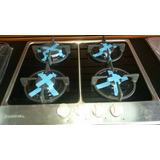 Tope De Cocina A Gas Frigilux 4 Hornillas Acero Inox 60 Cm