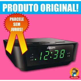 Rádio Relógio Philips Fm Digital Aj3116 Despertador Bivolt