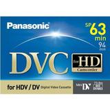 Videoassette Mini Dvc Hd Panasonic 63 Mins
