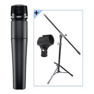 Combo Microfono Shure Sm 57 + Soporte + Cable + Pipeta