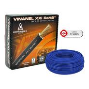 Caja 100 Mts Cable Rojo Thw Cal 12 Aw Condumex Vinanel Xxi