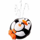 Pinguino Juguete Para Baño Flota Tira Agua Como Una Fuente
