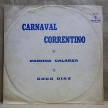 Ramona Galarza Litoral Lp Vinilo Carnaval Correntino Odeon