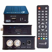 Conversor De Tv Digital Ekotech Alta Definição Zbt 670s
