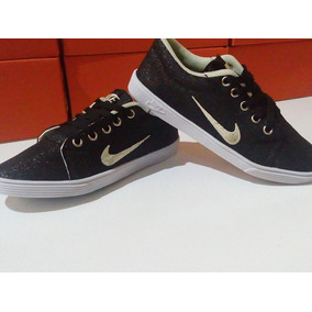 Sapatenis Feminino Nike Preto Brilho Promoção Black Friday