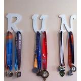 Medallero Colgador De Medallas Por Letra Acero Muy Durable