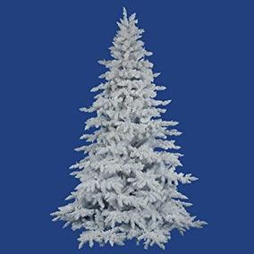 Árbol De Navidad Vickerman Árbol Spruce-apagado, 4,5-pies,