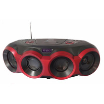 Grabadora Portátil Naxa Npb-266 Cd Boombox Bluetooth Mp3 Usb