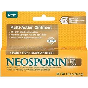 Neosporin Dolor / Picor / Scar Multi-acción Ungüento 1 Onza