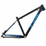 Quadro Tsw Awe S 29 Preto Azul Mtb Aluminio Super Leve Bike