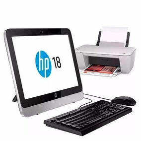 Computadora Hp All In One Mas Impresora Hp 1515