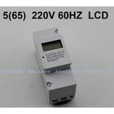 Medidor De Consumo Energia Digital Monofásico 220v 65a