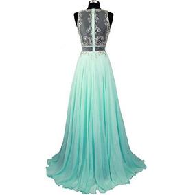 Vestido Debutante Festa 15 Anos 2460 Noivas Promoção Verde 1