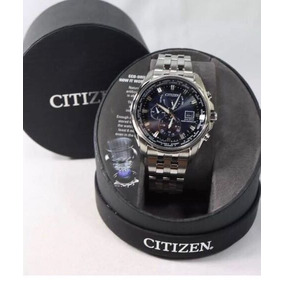 Citizen At9030-80l Eco Drive Mens Atomic Radio Control Stai