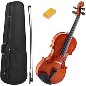 Violino Marinos 4/4 Estojo Mv44 + Arco Breu Completo