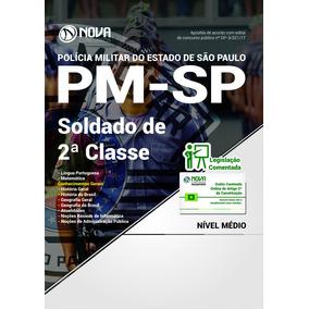 Apostila Concurso Pmsp 2017 Soldado Pm 2ª Classe Atualizada