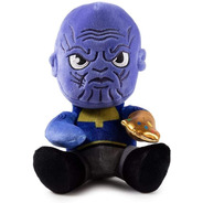 Kidrobot Marvel Avengers Phunny Thanos Peluche 18 Cms
