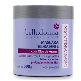 Belladonna Desamarelador Máscara De Hidratação 500g