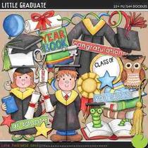 Kit Imprimible Graduacion 4 Imagenes Clipart