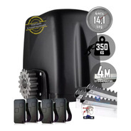 Kit Motor Portão Rossi Atto Turbo 4m Crem 4 Controles 350kg
