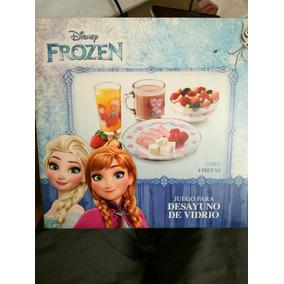 Frozen, 4pz,vaso,plato,tazon Y Taza