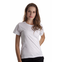 Camiseta Baby Look Feminina Lisa Básica Blusinha Algodão