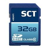 32gb Sd Clase 10 Sct Memoria Profesional De Alta Velocidad T