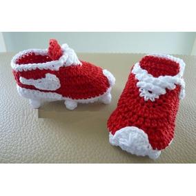 Botines Nike A Crochet Bebes (c/caja Y Tarjeta)