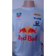 Camiseta Poliéster Red Bull