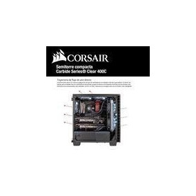 Gabinete Corsair Gamer Carbide 400 C Negro