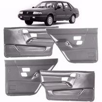Kit 4 Forros Porta Santana 1991/1998 4 Portas Cinza